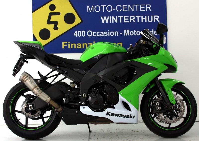 kawasaki ninja zx 10 r occasion motorr der moto center winterthur. Black Bedroom Furniture Sets. Home Design Ideas