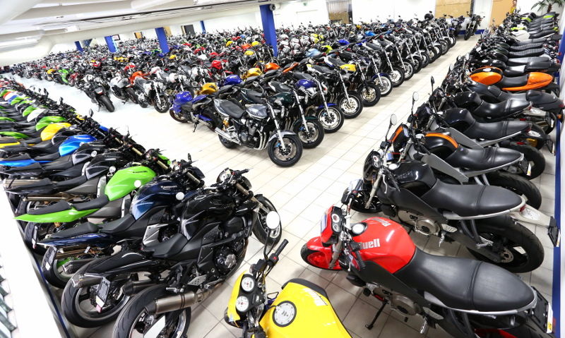 Occasion-Motorradhandel 2 - Moto Center Winterthur
