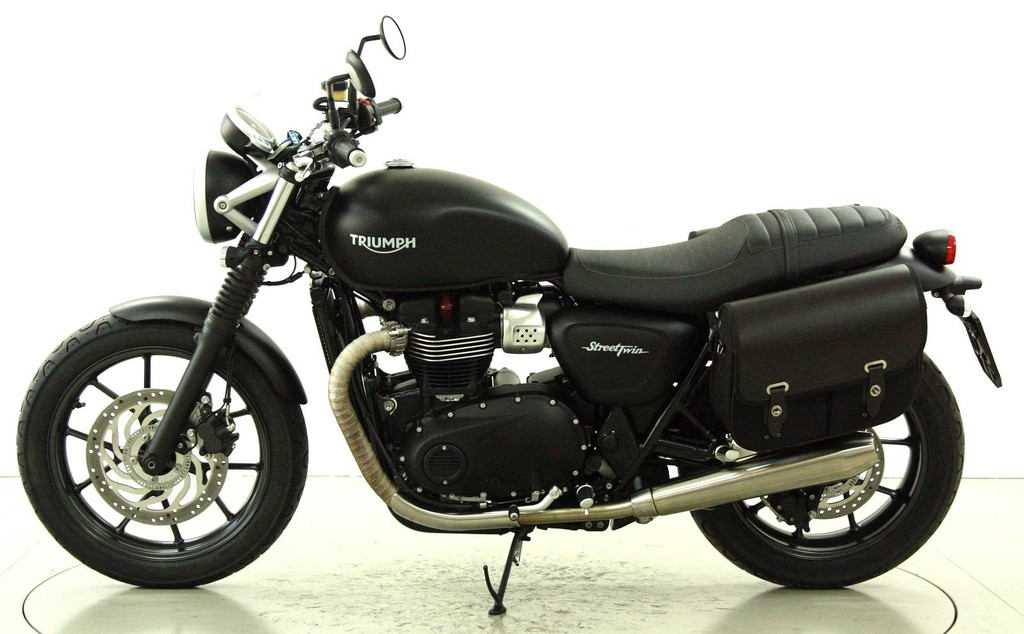 triumph street twin occasion motorr der moto center. Black Bedroom Furniture Sets. Home Design Ideas