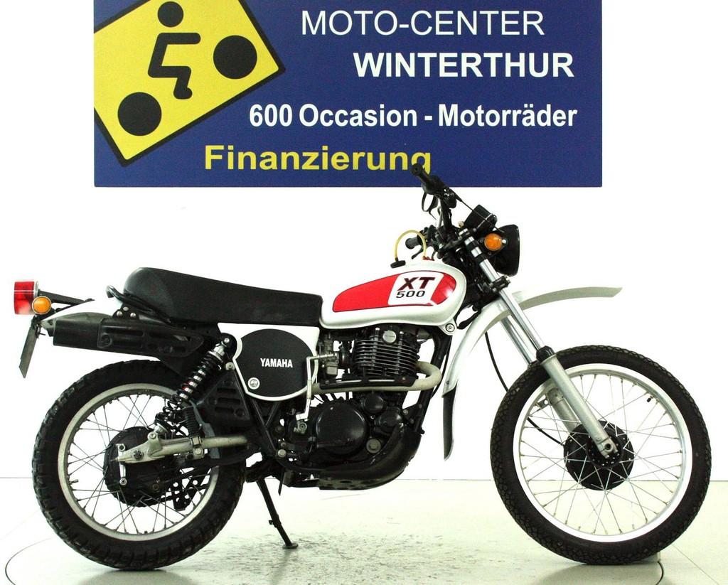 yamaha xt 500 enduro supermoto moto center winterthur. Black Bedroom Furniture Sets. Home Design Ideas